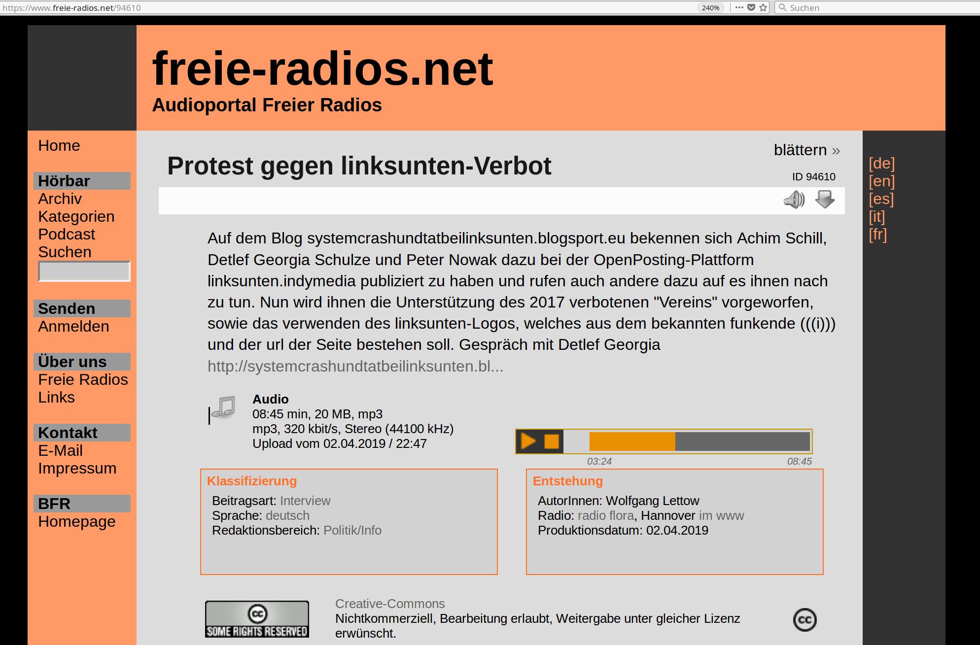 freie-radios.net vom 03.04.2019