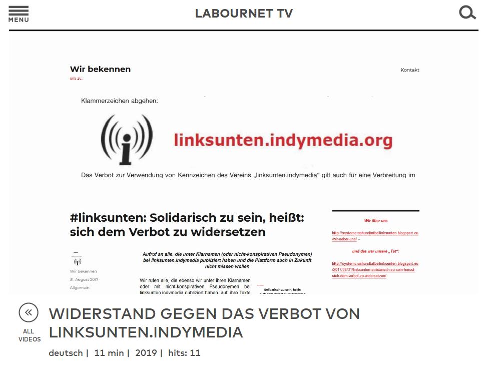 labournet.tv vom 01.06.2019