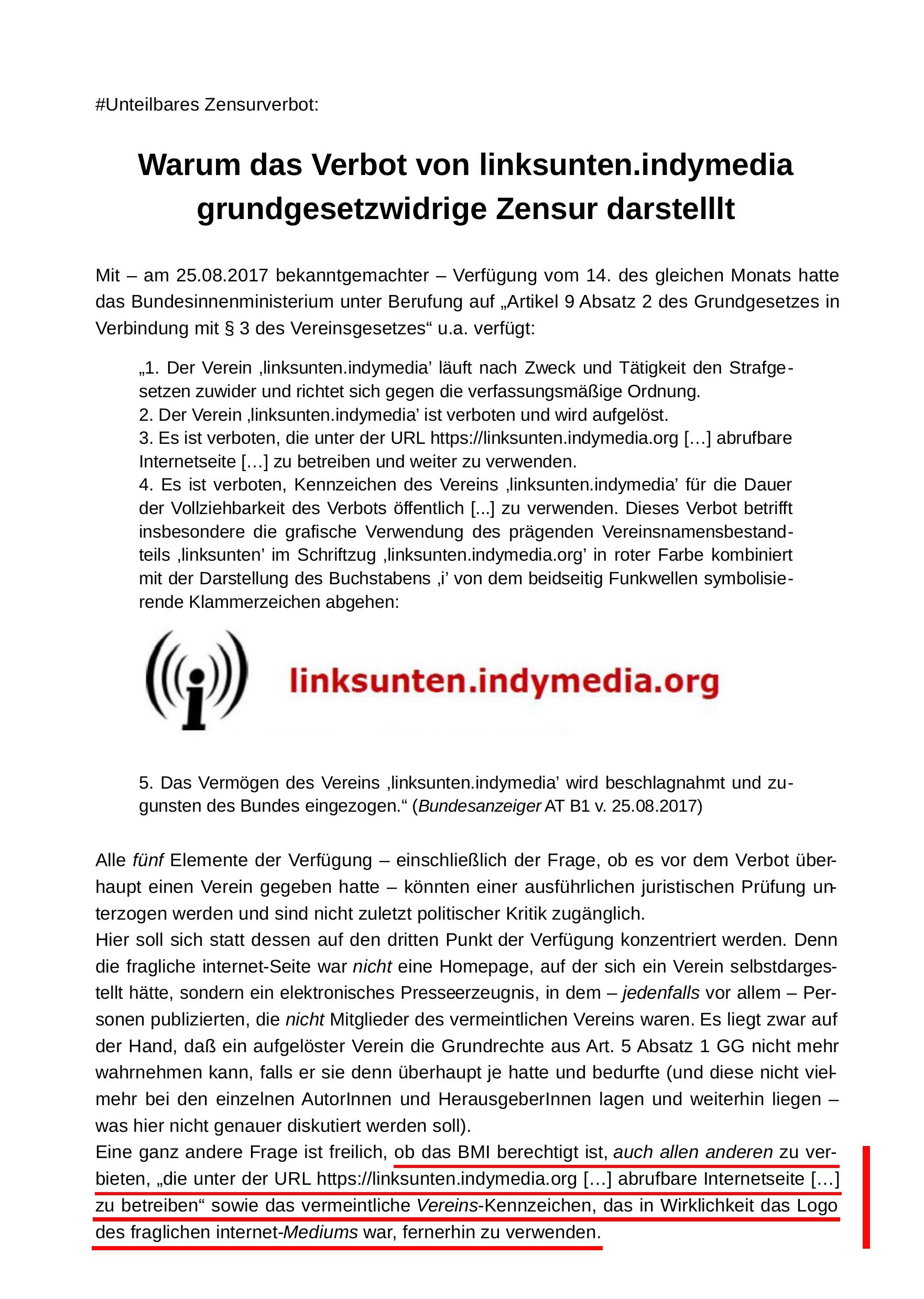 Flugblatt für die #Unteilbar-Demo am 13.10.2018 in Berlin