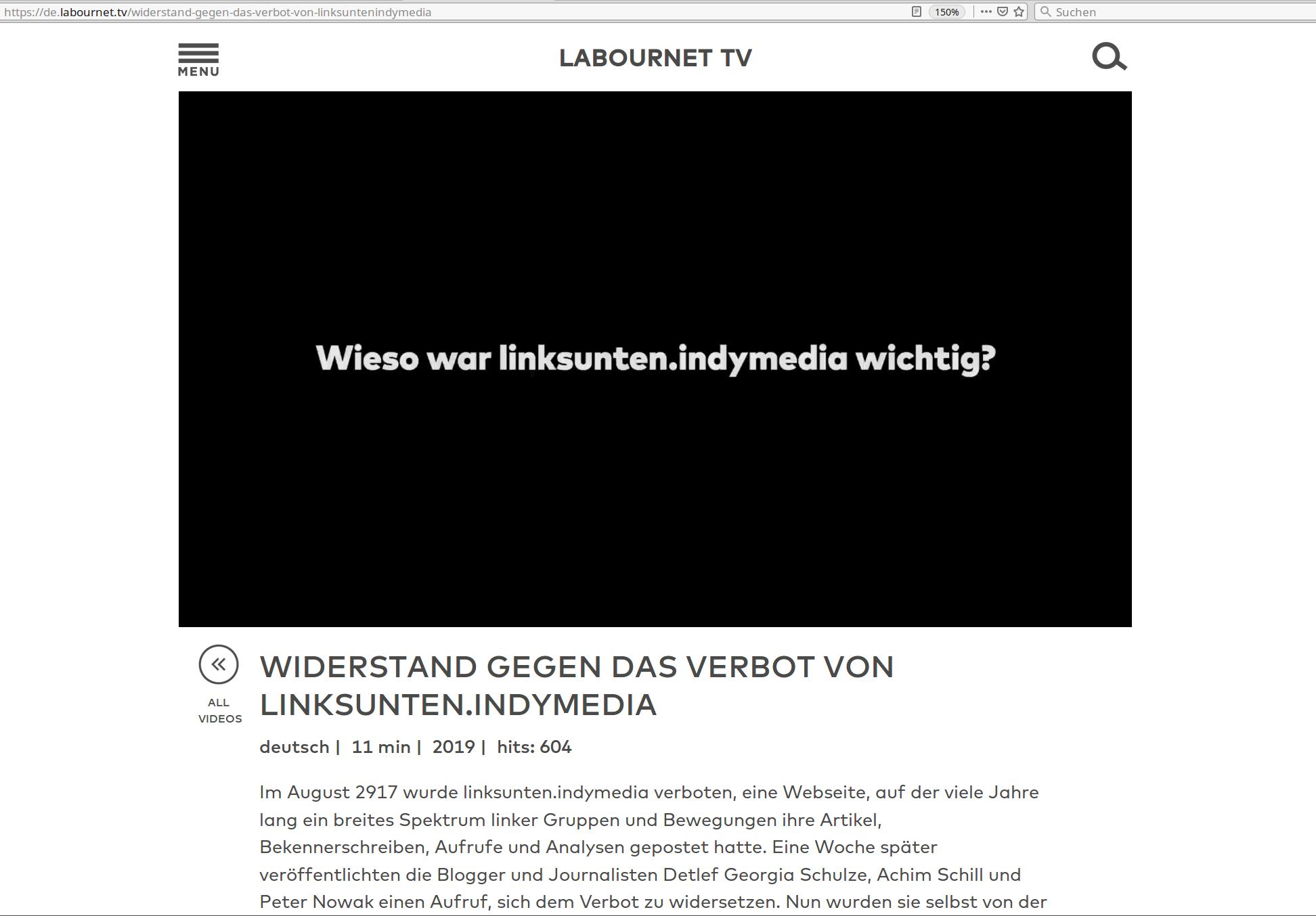 11-minütiges Interview bei labournet.tv mit Achim Schill und DGS
